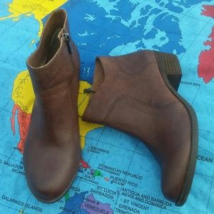 Lucky Brand leather booties 7.5